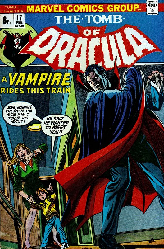 Cover of Tomb of Dracula (Vol 1) #17. One of 250,000 Vintage American Comics on sale from Krypton!