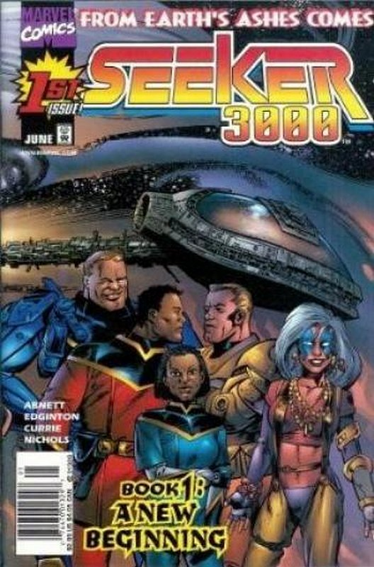 Cover of Seeker 3000 (1998 Ltd) #1. One of 250,000 Vintage American Comics on sale from Krypton!
