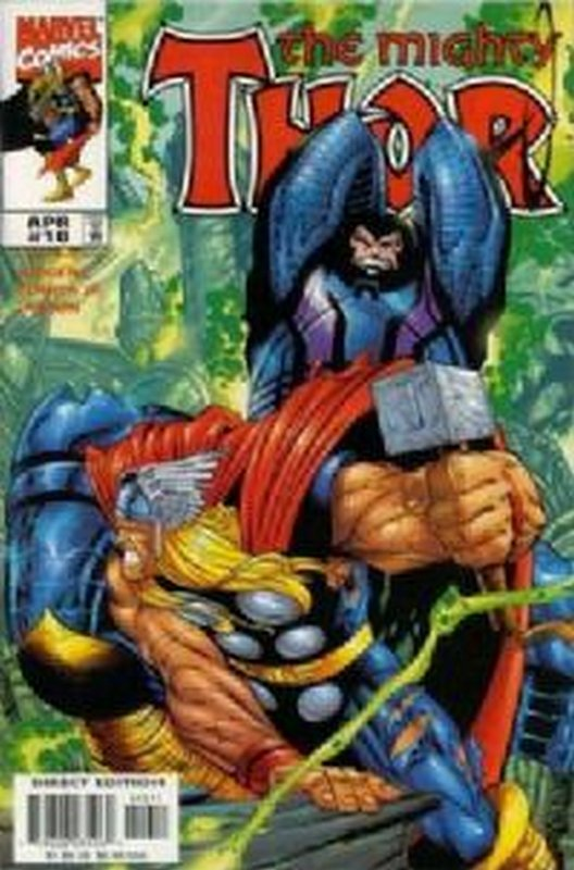 Cover of Thor (Vol 2) #10. One of 250,000 Vintage American Comics on sale from Krypton!