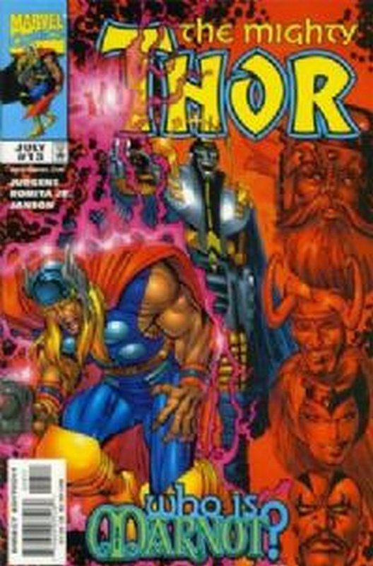 Cover of Thor (Vol 2) #13. One of 250,000 Vintage American Comics on sale from Krypton!