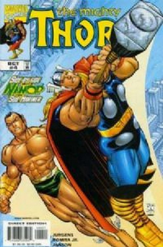 Cover of Thor (Vol 2) #4. One of 250,000 Vintage American Comics on sale from Krypton!
