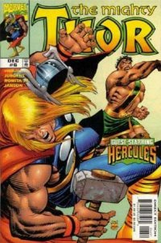 Cover of Thor (Vol 2) #6. One of 250,000 Vintage American Comics on sale from Krypton!