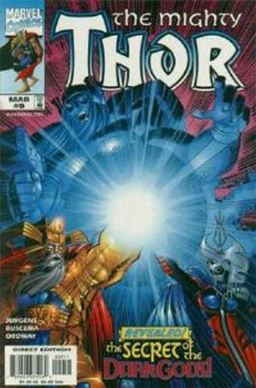 Cover of Thor (Vol 2) #9. One of 250,000 Vintage American Comics on sale from Krypton!