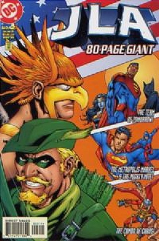 Cover of JLA 80 Page Giant (1998) #2. One of 250,000 Vintage American Comics on sale from Krypton!