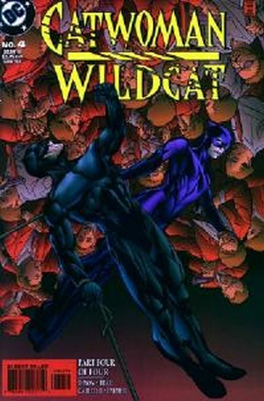 Cover of Catwoman/Wildcat (1998 Ltd) #4. One of 250,000 Vintage American Comics on sale from Krypton!