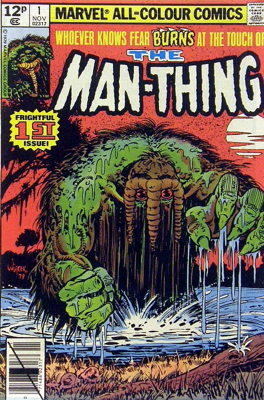 Cover of Man-Thing (Vol 2) #1. One of 250,000 Vintage American Comics on sale from Krypton!