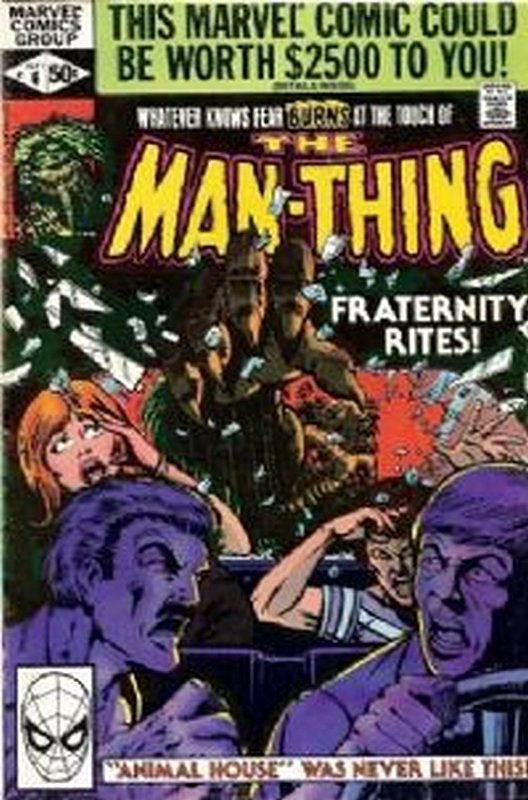 Cover of Man-Thing (Vol 2) #6. One of 250,000 Vintage American Comics on sale from Krypton!