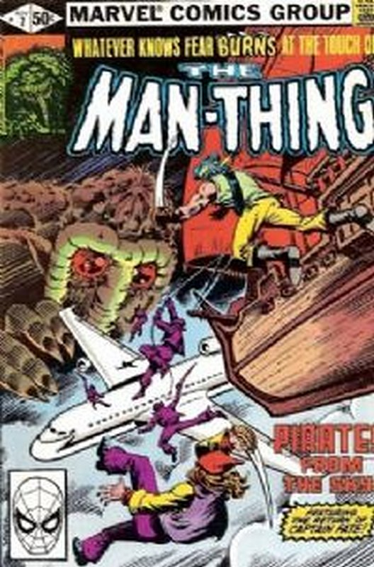 Cover of Man-Thing (Vol 2) #7. One of 250,000 Vintage American Comics on sale from Krypton!