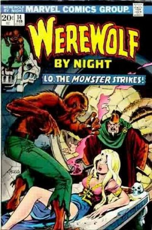 Cover of Werewolf by Night (Vol 1) #14. One of 250,000 Vintage American Comics on sale from Krypton!