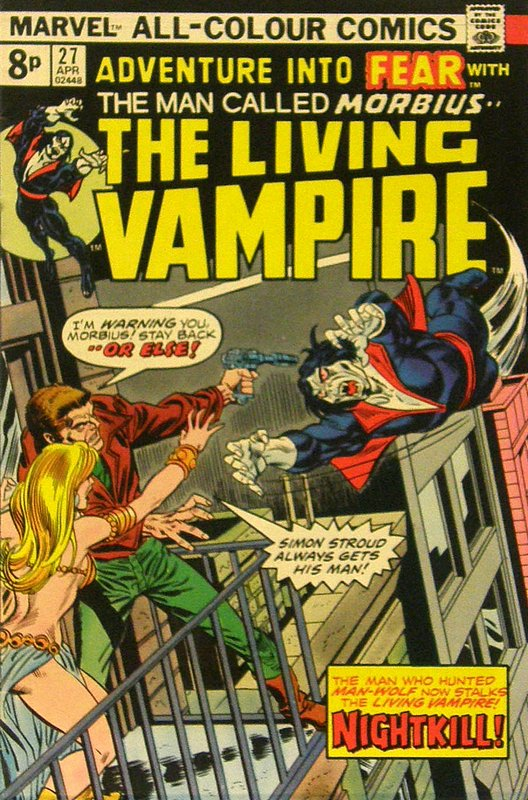 Cover of Adventure into Fear (Vol 1) #27. One of 250,000 Vintage American Comics on sale from Krypton!