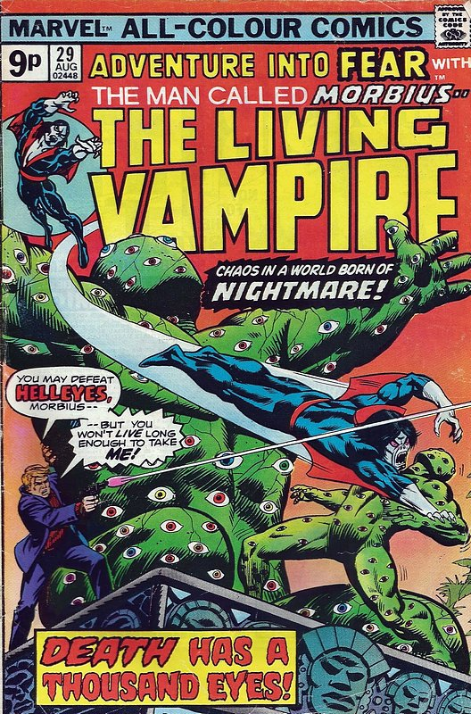 Cover of Adventure into Fear (Vol 1) #29. One of 250,000 Vintage American Comics on sale from Krypton!