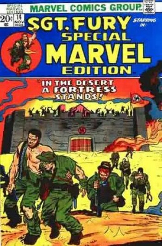 Cover of Special Marvel Edition (Vol 1) #14. One of 250,000 Vintage American Comics on sale from Krypton!