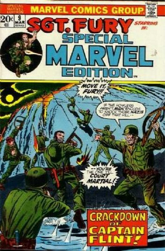 Cover of Special Marvel Edition (Vol 1) #9. One of 250,000 Vintage American Comics on sale from Krypton!