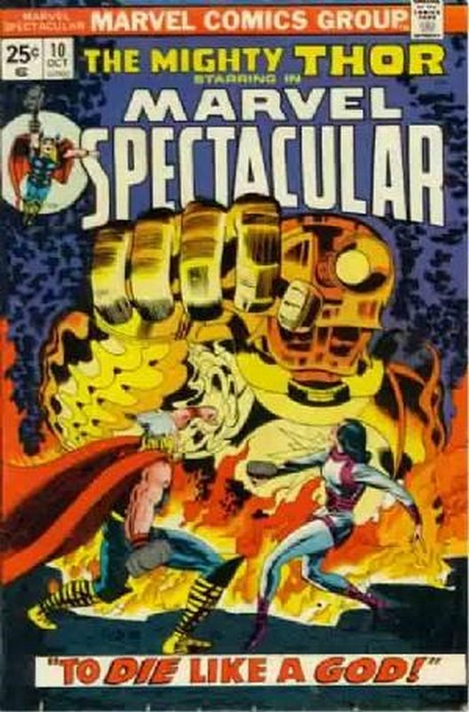 Cover of Marvel Spectacular (Vol 1) #10. One of 250,000 Vintage American Comics on sale from Krypton!