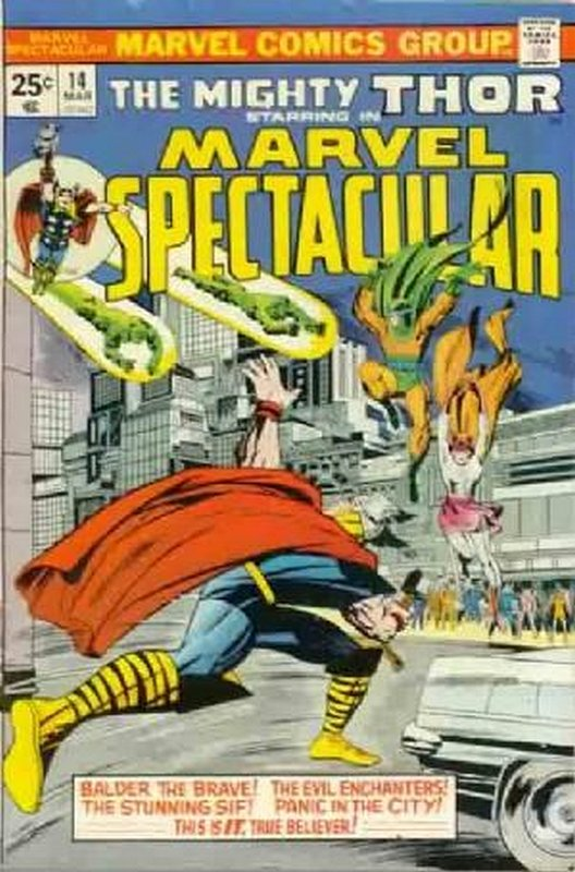 Cover of Marvel Spectacular (Vol 1) #14. One of 250,000 Vintage American Comics on sale from Krypton!
