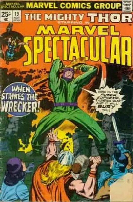 Cover of Marvel Spectacular (Vol 1) #19. One of 250,000 Vintage American Comics on sale from Krypton!
