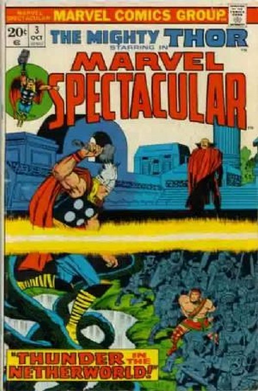 Cover of Marvel Spectacular (Vol 1) #3. One of 250,000 Vintage American Comics on sale from Krypton!