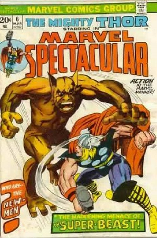 Cover of Marvel Spectacular (Vol 1) #6. One of 250,000 Vintage American Comics on sale from Krypton!