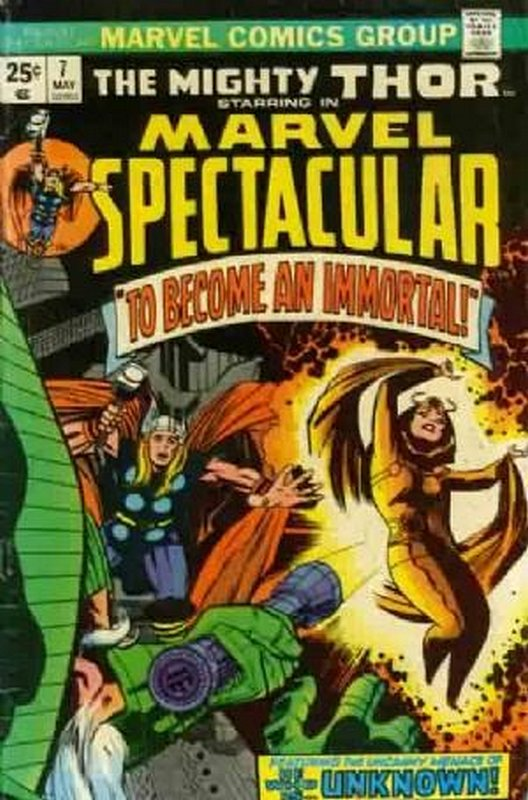 Cover of Marvel Spectacular (Vol 1) #7. One of 250,000 Vintage American Comics on sale from Krypton!