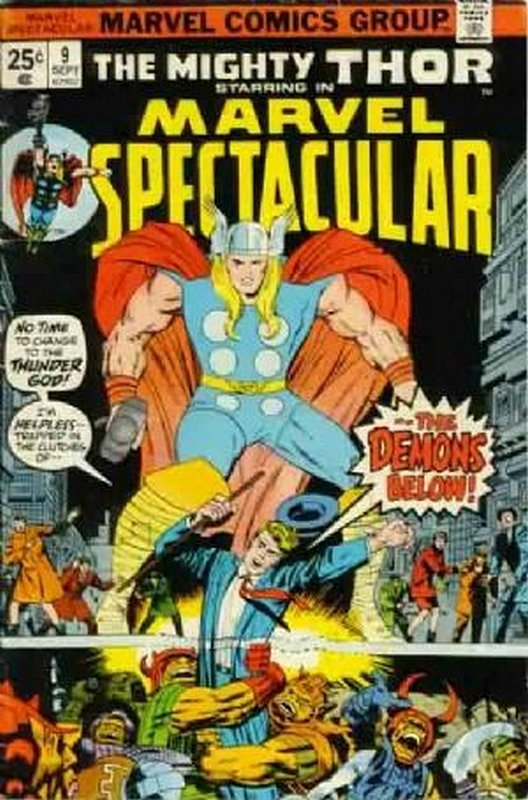 Cover of Marvel Spectacular (Vol 1) #9. One of 250,000 Vintage American Comics on sale from Krypton!