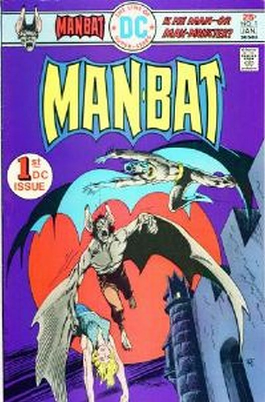 Cover of Man-Bat  (Vol 1) #1. One of 250,000 Vintage American Comics on sale from Krypton!