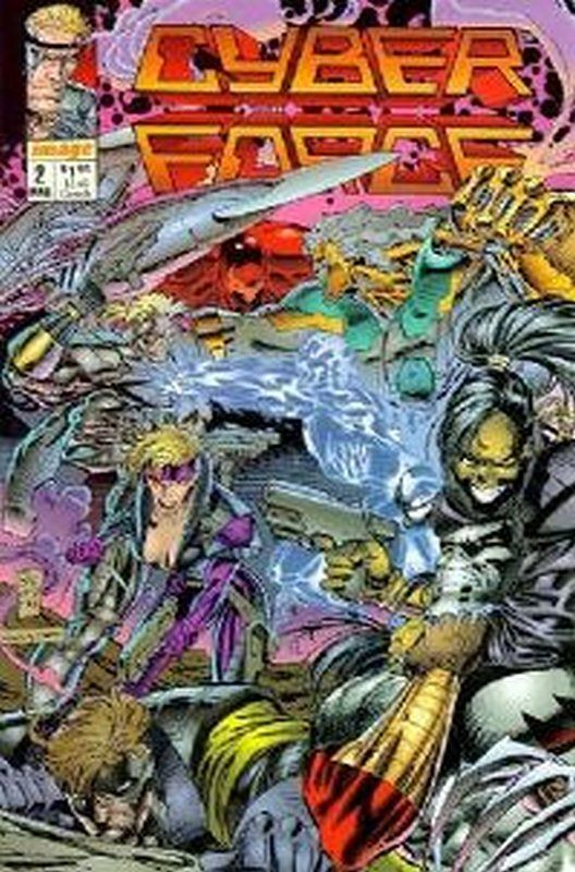 Cover of Cyber-Force (1992 Ltd) #2. One of 250,000 Vintage American Comics on sale from Krypton!