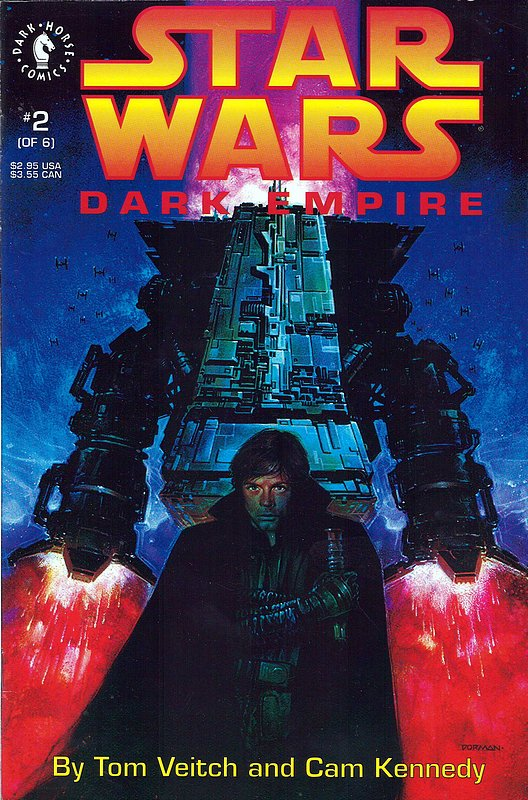 Cover of Star Wars: Dark Empire (1992 Ltd) #2. One of 250,000 Vintage American Comics on sale from Krypton!