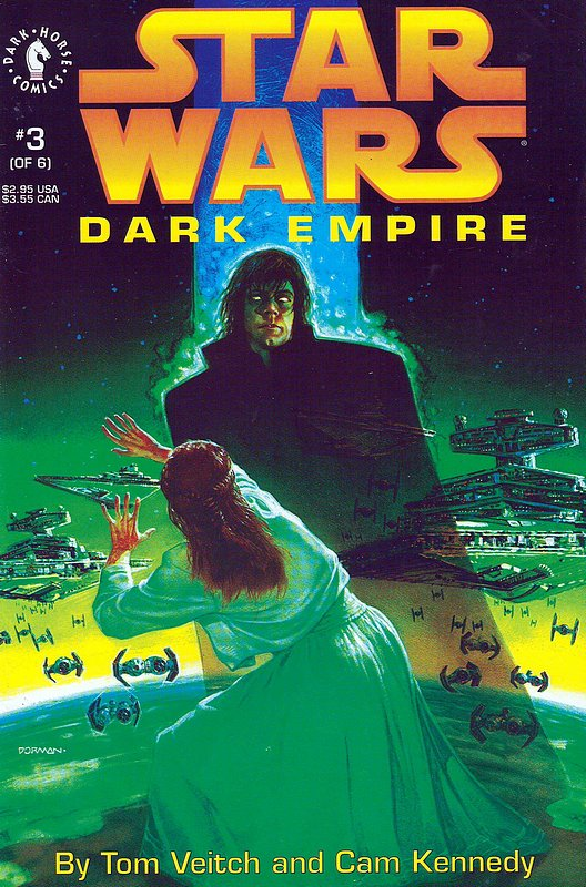 Cover of Star Wars: Dark Empire (1992 Ltd) #3. One of 250,000 Vintage American Comics on sale from Krypton!
