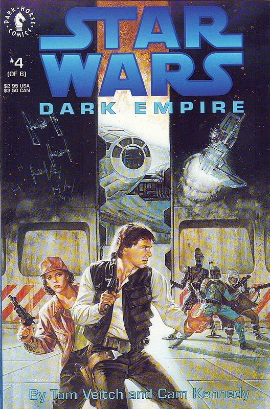 Cover of Star Wars: Dark Empire (1992 Ltd) #4. One of 250,000 Vintage American Comics on sale from Krypton!