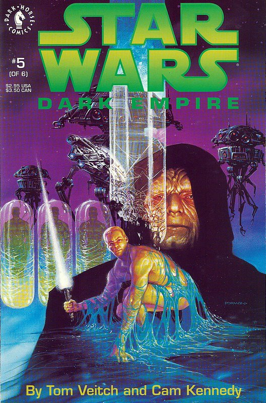 Cover of Star Wars: Dark Empire (1992 Ltd) #5. One of 250,000 Vintage American Comics on sale from Krypton!