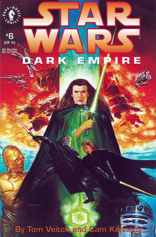 Cover of Star Wars: Dark Empire (1992 Ltd) #6. One of 250,000 Vintage American Comics on sale from Krypton!