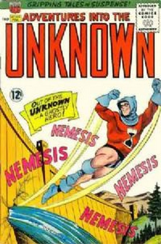 Cover of Adventures into the Unknown (Vol 1) #154. One of 250,000 Vintage American Comics on sale from Krypton!