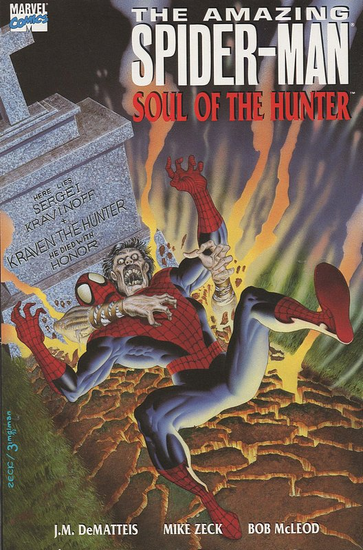 Cover of Amazing Spider-Man: Soul of the Hunter #1. One of 250,000 Vintage American Comics on sale from Krypton!