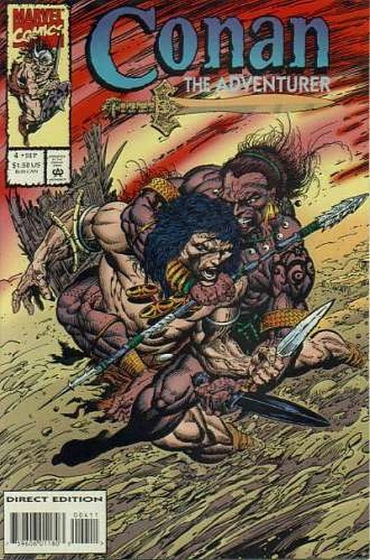 Cover of Conan the Adventurer (Vol 1) #4. One of 250,000 Vintage American Comics on sale from Krypton!
