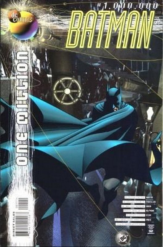 Cover of Batman One Million (1998 One Shot) #1. One of 250,000 Vintage American Comics on sale from Krypton!