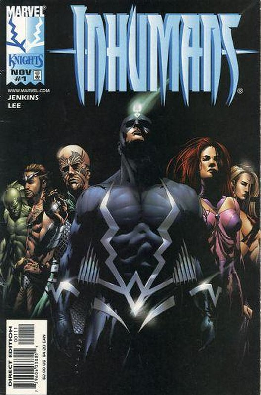Cover of Inhumans (1998 Ltd) #1. One of 250,000 Vintage American Comics on sale from Krypton!