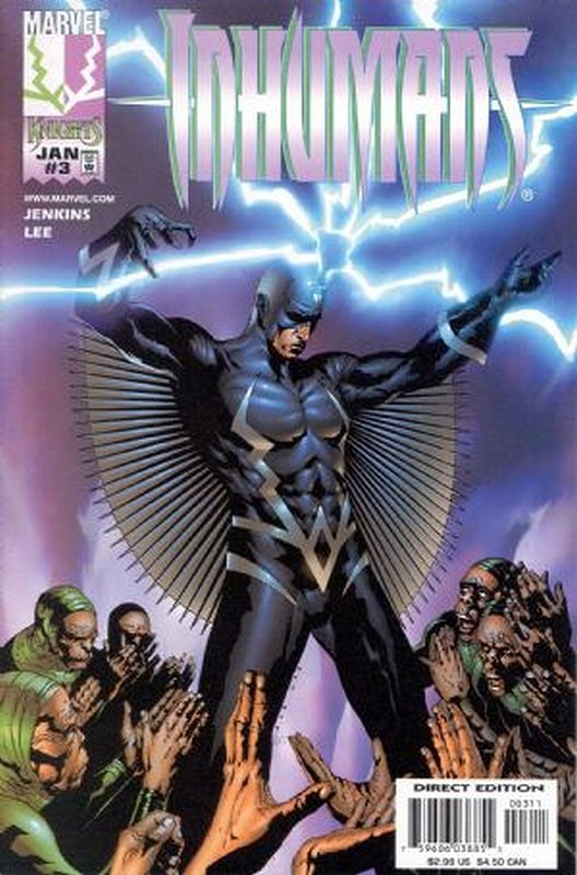 Cover of Inhumans (1998 Ltd) #3. One of 250,000 Vintage American Comics on sale from Krypton!