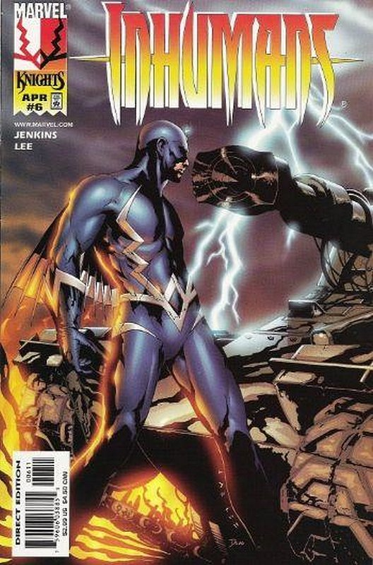 Cover of Inhumans (1998 Ltd) #6. One of 250,000 Vintage American Comics on sale from Krypton!