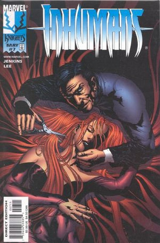 Cover of Inhumans (1998 Ltd) #7. One of 250,000 Vintage American Comics on sale from Krypton!