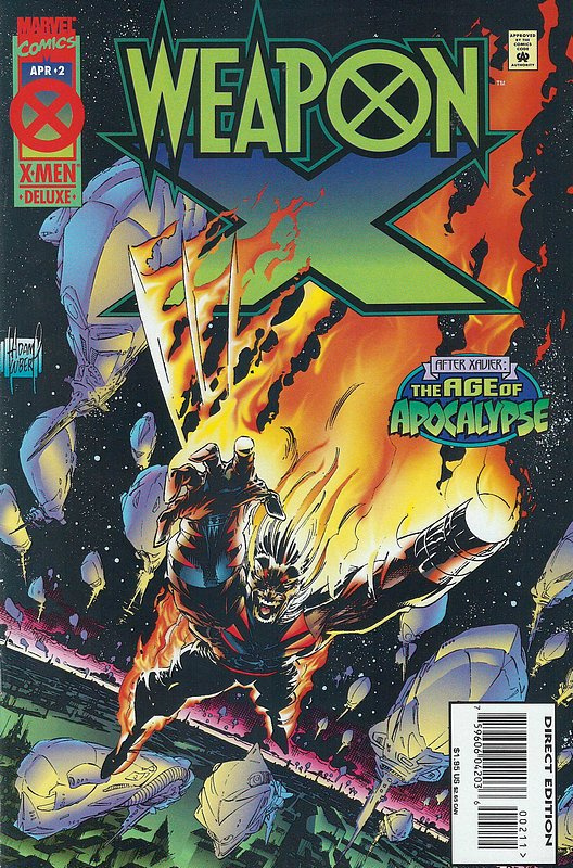 Cover of Weapon X (1995 Ltd) #2. One of 250,000 Vintage American Comics on sale from Krypton!