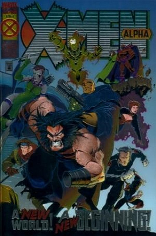 Cover of X-Men Alpha (1994 One Shot) #1. One of 250,000 Vintage American Comics on sale from Krypton!