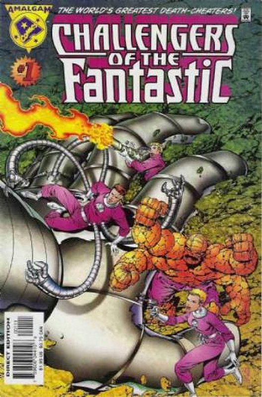 Cover of Challengers of the Fantastic (1997 One Shot) #1. One of 250,000 Vintage American Comics on sale from Krypton!