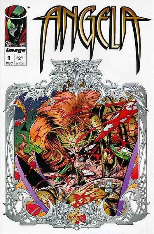 Cover of Angela (1995 Ltd) #1. One of 250,000 Vintage American Comics on sale from Krypton!