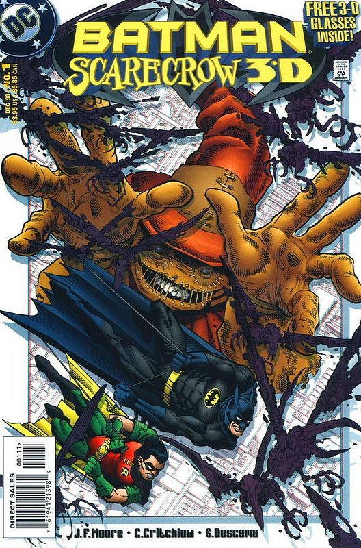 Cover of Batman Scarecrow 3D (1998 One Shot) #1. One of 250,000 Vintage American Comics on sale from Krypton!