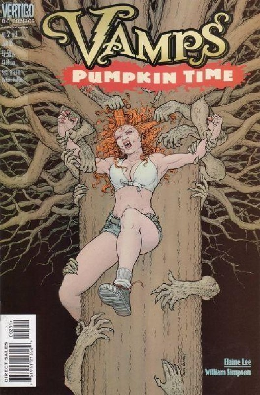 Cover of Vamps Pumpkin Time (1998 Ltd) #2. One of 250,000 Vintage American Comics on sale from Krypton!