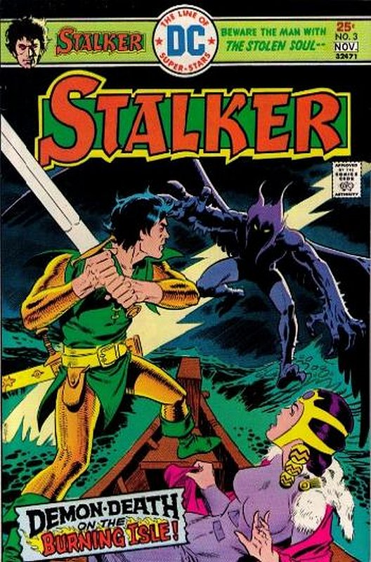 Cover of Stalker (Vol 1) #3. One of 250,000 Vintage American Comics on sale from Krypton!