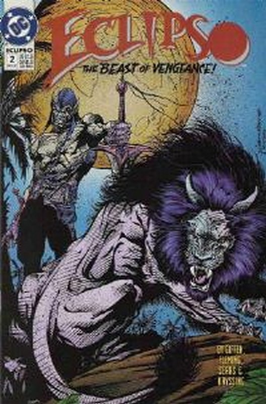 Cover of Eclipso (Vol 1) #2. One of 250,000 Vintage American Comics on sale from Krypton!