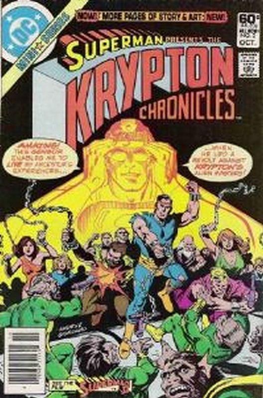 Cover of Krypton Chronicles (1981 Ltd) #2. One of 250,000 Vintage American Comics on sale from Krypton!