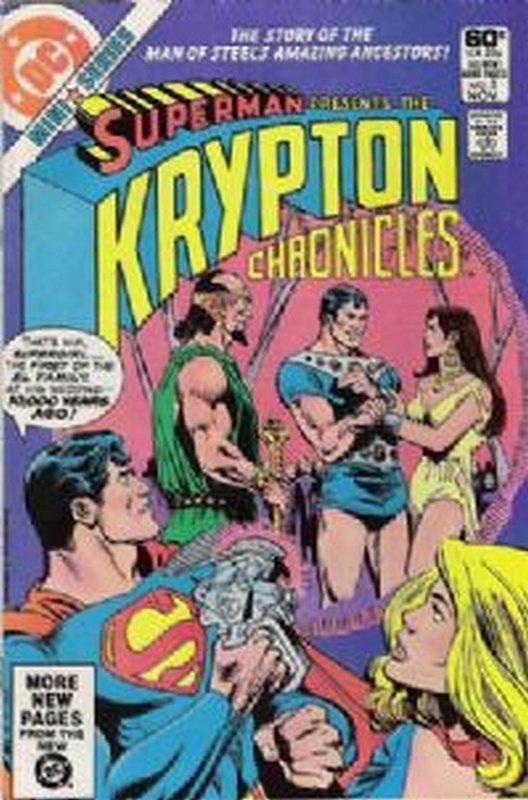 Cover of Krypton Chronicles (1981 Ltd) #3. One of 250,000 Vintage American Comics on sale from Krypton!