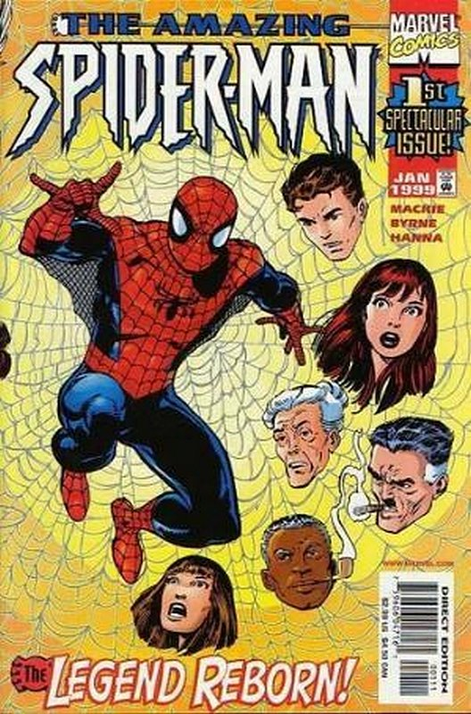 Cover of Amazing Spider-Man (Vol 2) #1. One of 250,000 Vintage American Comics on sale from Krypton!